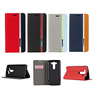 Retro Fashion Deluxe Leather flip Wallet Stand Case For LG V10 H968