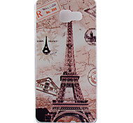 Transmission Tower Pattern TPU Soft Phone Case for Samsung Galaxy A3 10(2016)/A5 10(2016)/A7 10(2016)