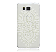 Lace Chinese Knot Pattern TPU Material Phone Case for Samsung Galaxy G360/G530/G355H/G850F