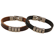 Vintage / Party / Work / Casual Leather Leather Bracelet Christmas Gifts