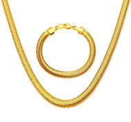Collane / Bracciale - Matrimonio / Feste / Quotidiano / Casual / N/D - di Argento placcato / Placcato in oro