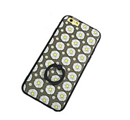 Small Flower Pattern with Hand Ring Back Case for iPhone 6
