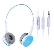 em320i salar câblé casque fluorescent lumineux pour iPhone (bleu)