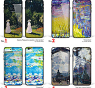 "iPhone 6 Plus/6S Plus Body Art Skin Sticker: ""Works by Claude Monet (Part 3 of 3)"" (Masterpieces Series)"
