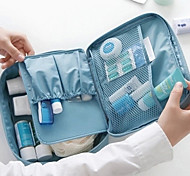 Travel Inflated Mat / Toiletry Bag Portable Travel Storage Fabric
