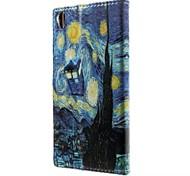 Good Quality PU Leather Flip Case Mobile Phone for Sony Xperia Z3/Xperia Z3 mini/Xperia Z4/Xperia Z4 mini