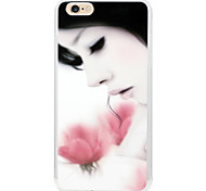 Flower girl pattern back case For  iPhone6 | 6s