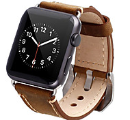 Cowhide Genuine Leather Wrist Band Classic Buckle for Apple Watch & Sport & Edition(42mm|38mm)