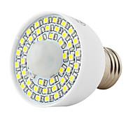 3W E26/E27 LED-bollampen T 45 SMD 3528 3.5 lm Warm wit / Natuurlijk wit AC 85-265 V 1 stuks