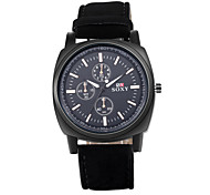 Men's PU Analog Mechanical Wrist Watch Cool Watch Unique Watch Fashion Watch