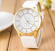 Women's  Fashion  Simplicity Pierced Quartz  Leather Lady Watch Cool Watches Unique Watches