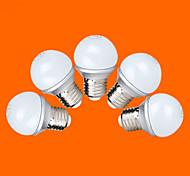 E26/E27 LED Kugelbirnen G60 9 SMD 2835 220 lm Warmes Weiß Kühles Weiß AC 220-240 V 5 Stück