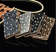 Kristalldiamant-Brieftasche Flip-Karte Fallabdeckung für Samsung grand prime / core prime / J5