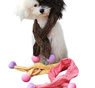 Dog Collar / Collar Bandana Adjustable/Retractable Green / Blue Sponge