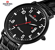 MOERS Men's Round Dial Casual Watch Alloy Strap Japanese Quartz Watch Wrist Watch Cool Watch Unique Watch