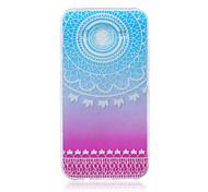 Campanula Color Pattern TPU Material Phone Case for Samsung Galaxy J1/J1 Ace/J2/J3/J5/J7