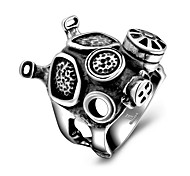 Ring Jewelry Steel Fashion Black Jewelry Casual 1pc