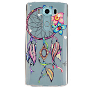 Dreamcatcher Pattern TPU Relief Back Cover Case for LG V10