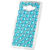 For Samsung Galaxy Case Rhinestone Case Back Cover Case Tile TPU Samsung A8 / A7 / A5 / A3
