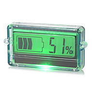 "1.57"" LCD Battery Indicator Display Panel w/ Green Light / Housing"