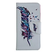 Coloured Drawing PU Leather Mobile Holster Including one Anti-dust Plug one stylus for iPhone 5/5S (Color Random)
