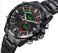 Men NAVIFORCE LED Analog-Digital Waterproof Sports Watch Calendar Genuine Stainless Steel Wristwatch (Assorted Color)