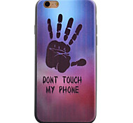 Palm Pattern TPU Material Phone Case for iPhone 5/5S/iPhone SE