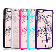 Perfume Lily Color Relief Mobile Phone Protection Shell Chinese Style for iPhone 6/6S 4.7""
