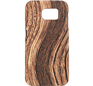 graint madera pc contraportada para Samsung Galaxy s7