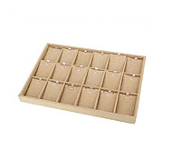 Necklace Pendant  Jewelry Earring Cufflink Display Holder Stand Showcase Hook Collection Storage Boxes New 35x24x3cm
