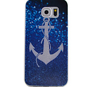 For Samsung Galaxy Case Pattern Case Back Cover Case Anchor TPU Samsung S6 / S5