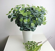 "18.9""H Artificial Plant Eucalyptus Leaf 1pc/set"