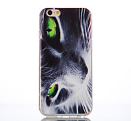 Green Eyes Pattern TPU Material Phone Case for iPhone 6/6S