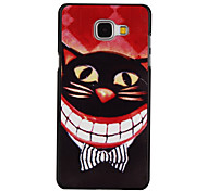 Tie Cat Pattern PC Material Hard Case for Samsung Galaxy A3 10(2016)/A5 10(2016)/A7 10(2016)