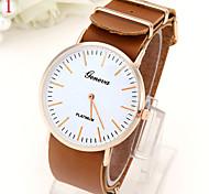 Ladies' Watch Ultra Thin Belt Watch