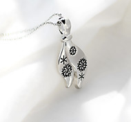 New Christmas Snowflake Personality Creative Fashion Necklace