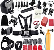 34 Accessori GoProMontaggio / Monopiede / Con bretelle / Vite / Boje / Accessori Kit / Clip / Dispositivo anti-nebbia / Casco /