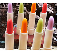 Lipstick Dry / Wet Stick Long Lasting Green / Red / Pink / Orange