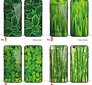 "iPhone 6/6S Body Art Skin Sticker: ""Green Leaves, Green Grasses, Bamboos"" (Plants Series)"