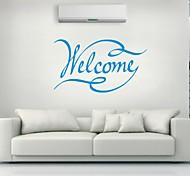 Parole e citazioni Adesivi murali Adesivi aereo da parete,PVC L: 58 x 103 cm / M:45 x 80cm / S: 35 x 60cm