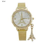 Women's Fashion Stainless Steel Band Quartz Analog Wrist Watch