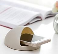 инновационный круглый держатель телефона мобильный телефон громкоговоритель