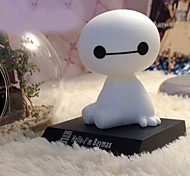 Baymax Creative Ornaments Car Accessories Car Bobblehead Dolls Cute Model Toy 1 pcs