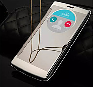 Smart Window View Clear Mirror Wake Up Sleep Intelligent Flip Case Cover For LG G4/H818/H819