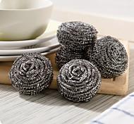 palle di pulizia in acciaio inox (6 pezzi)