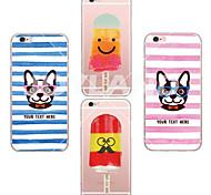 maycari®cat weiche transparente TPU Fall für iphone 6 / 6S (verschiedene Farben)