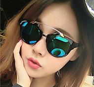 Sunglasses Men / Women / Unisex's Sports / Modern / Fashion Cat-eye Multi-Color Sunglasses Full-Rim
