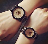 la mode de quartz blanc céramique contracté montre-bracelet