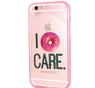 Donuts Design LED Flicker Back Cover+Bumper Cover for IPhone 6/6S