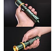 Светодиодные фонари LED 250 Люмен 3 Режим Cree Q5 Батарейки не входят в комплект Мини Фокусировка Ударопрочный Нескользящий захват